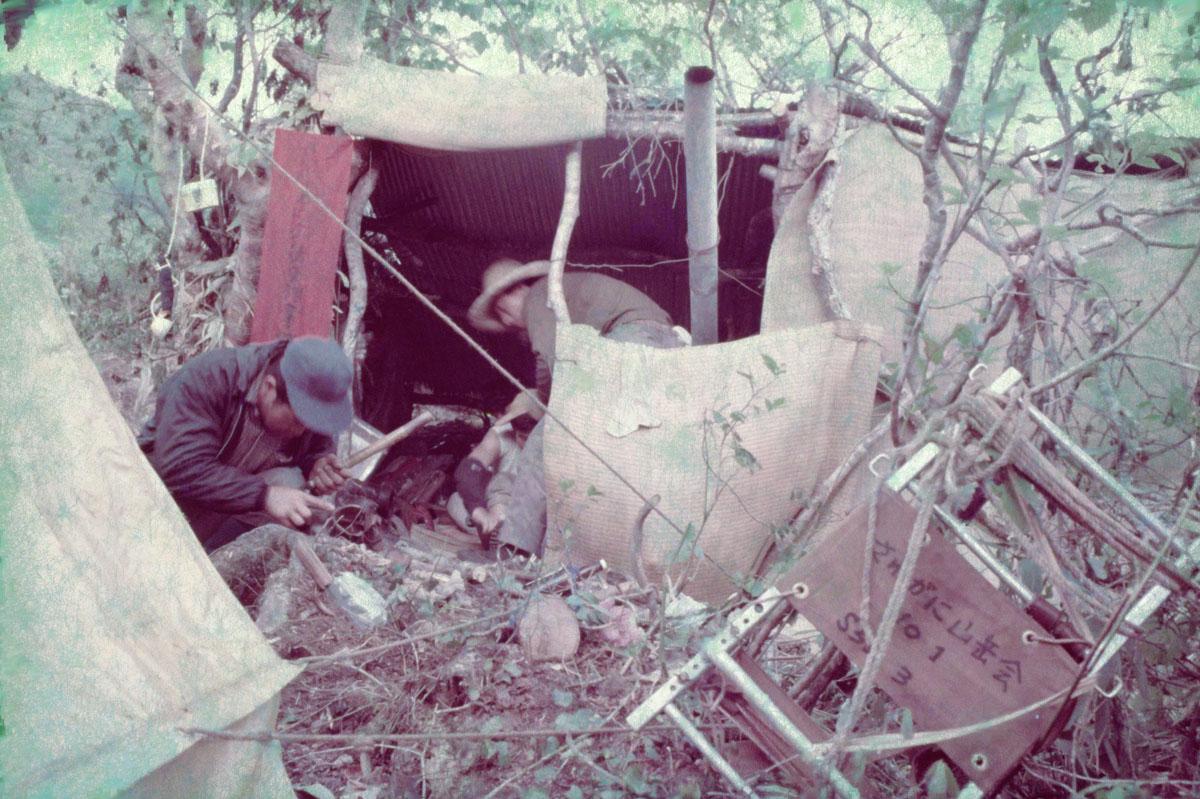 1968_栂海新道伐開のベースキャンプ