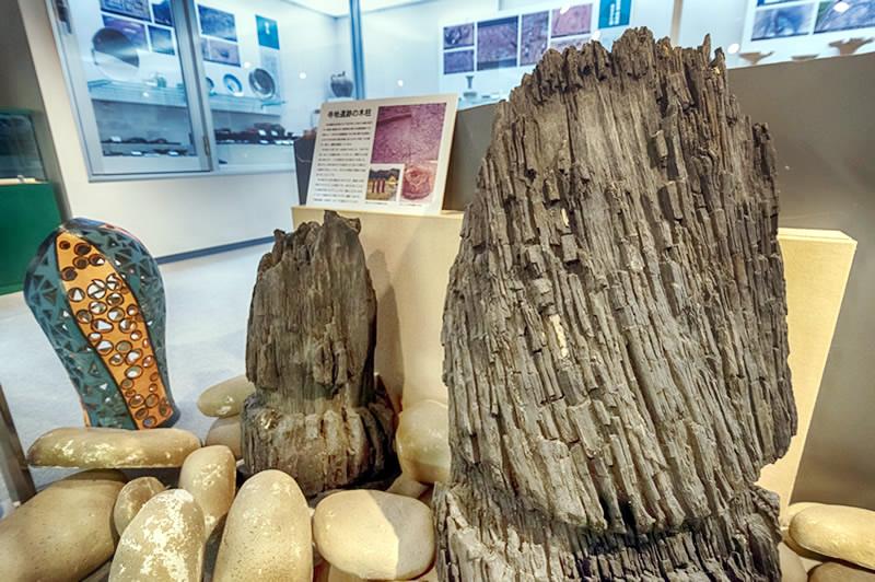 寺地遺跡の木柱