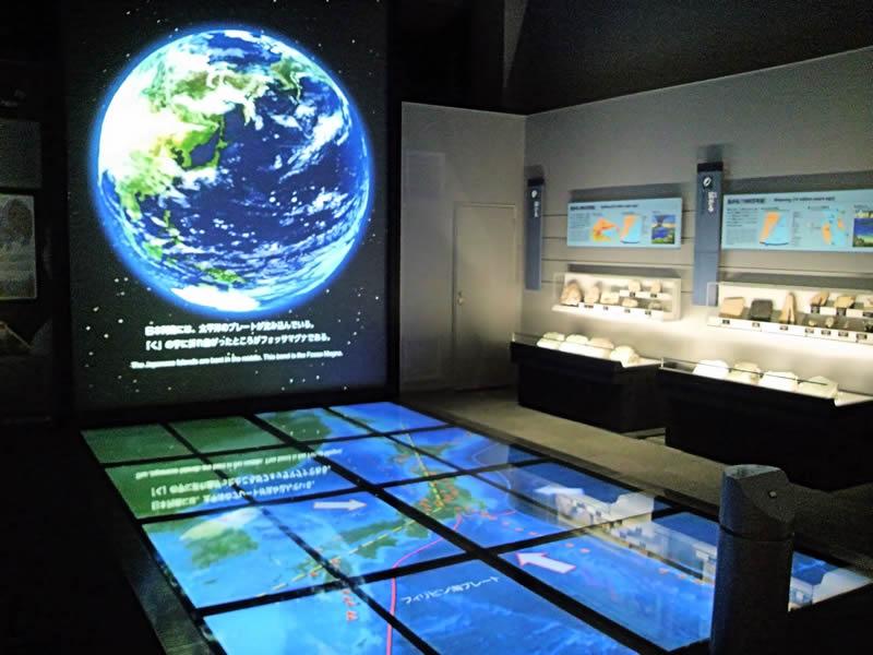 館内 第3展示室 誕生 日本列島
