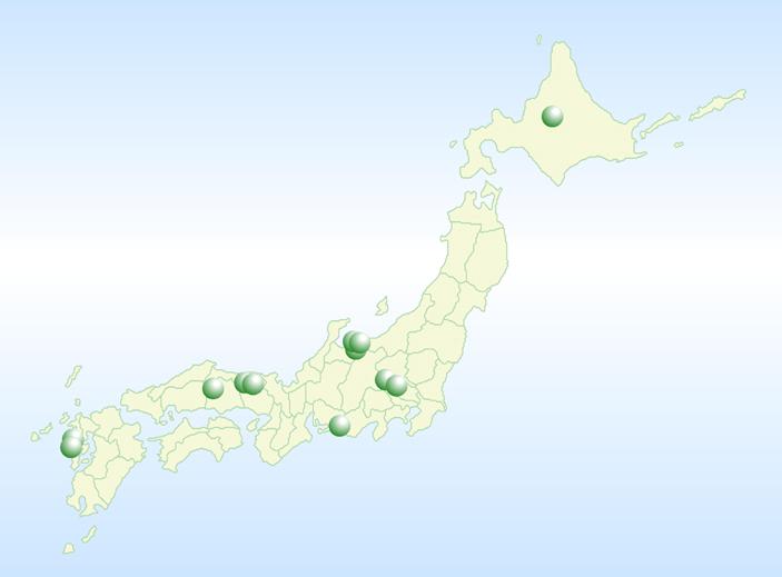 日本のヒスイの産地