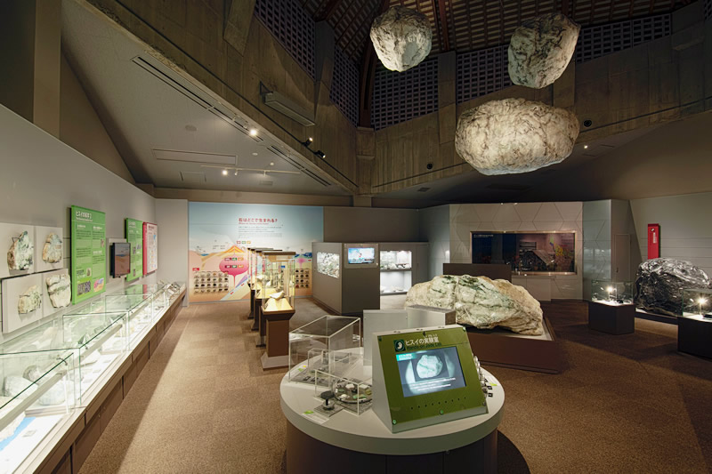 第2展示室 糸魚川大陸時代