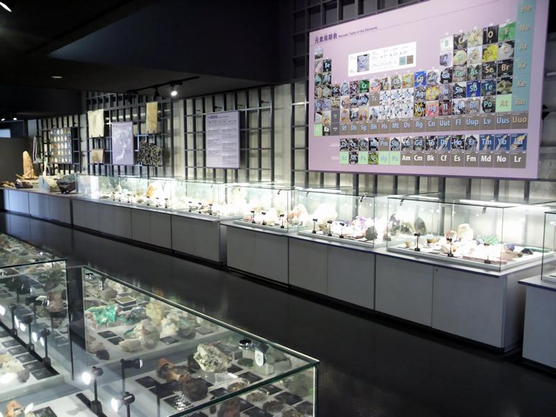 第6展示室 魅惑の鉱物