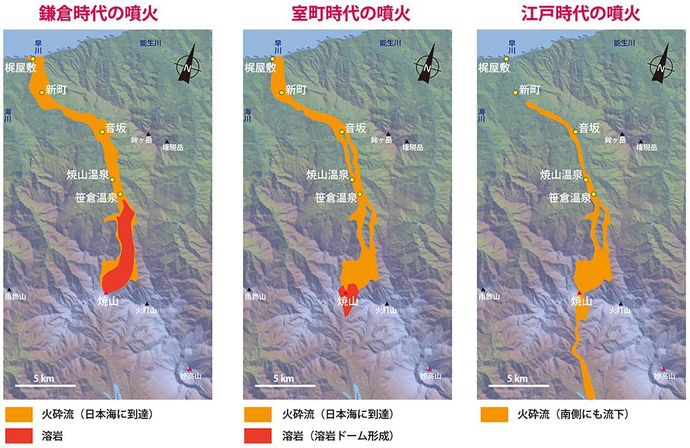 焼山_噴火の歴史outlineS
